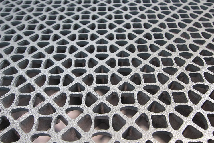 Grating panel
