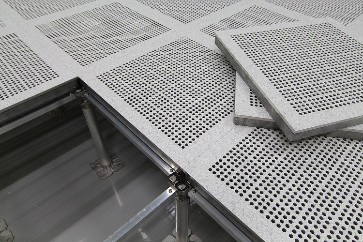 Aluminum Access Floor System (HPL finished)